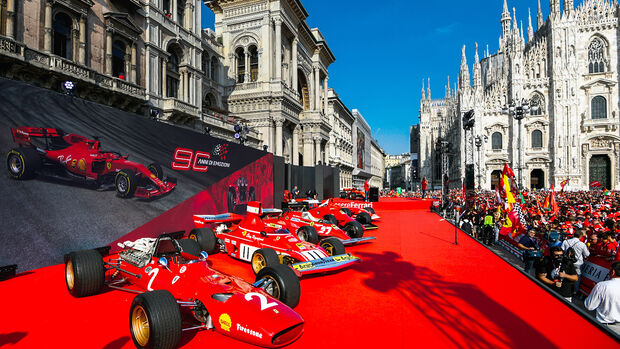 Ferrari-Party Mailand - GP Italien 2019