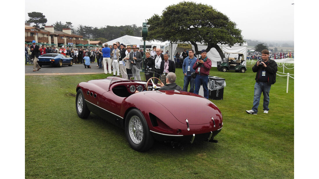 Ferrari - Pebble Beach Concours d'Elegance 2016