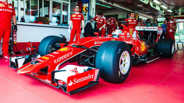 Ferrari - Pirelli - 2017er Reifentest - Fiorano 2016