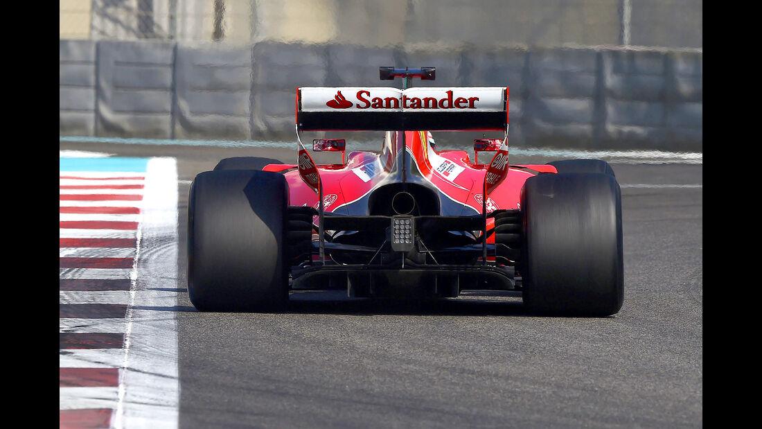 Ferrari - Pirelli-Tests 2016 - Formel 1