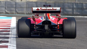 Ferrari - Pirelli-Tests 2016 - Formel 1