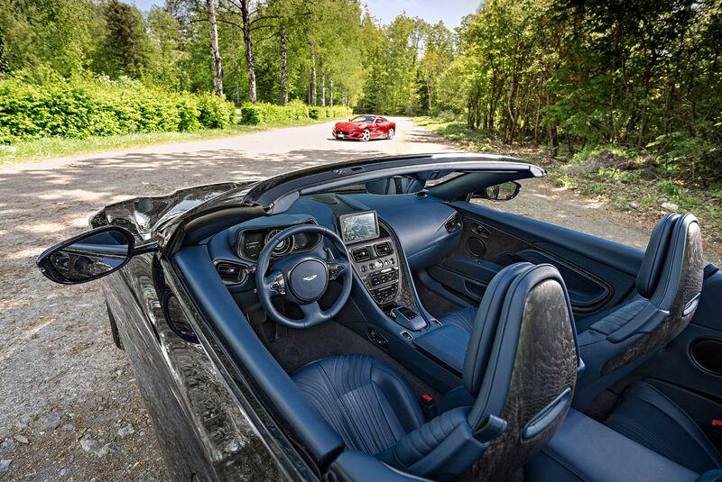 Ferrari Portofino - Aston Martin DB11 Volante - Sportwagen - Cabrios - sport auto 10/2018