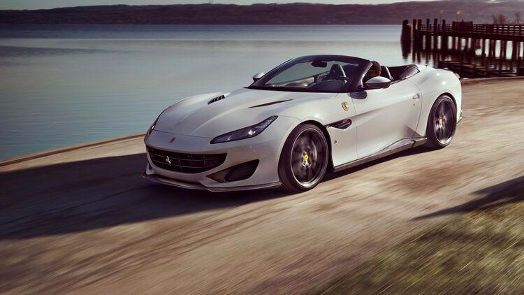 Ferrari Portofino Von Novitec Stufe 3 Tuning Für Den V8 Biturbo Auto Motor Und Sport