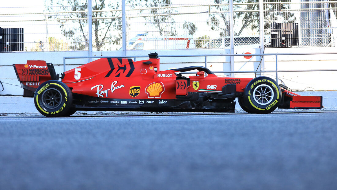 Ferrari - Profil - F1-Test - Barcelona - 2020