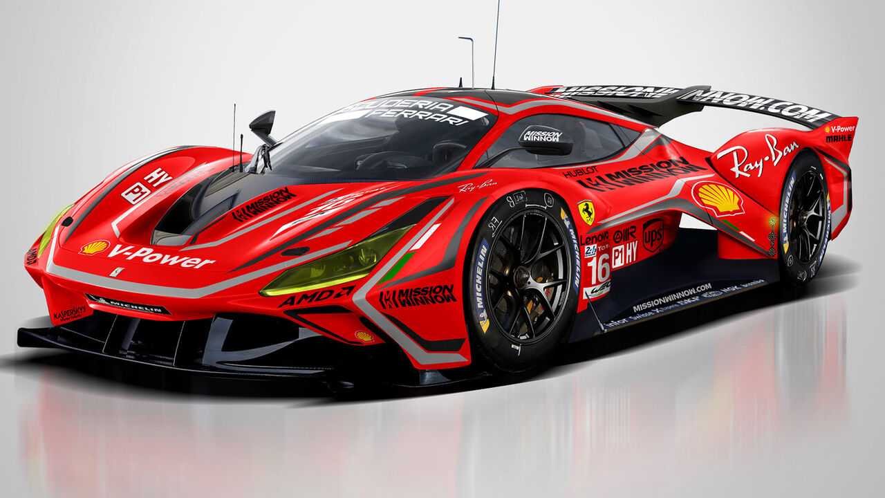 Ferrari Le Mans Comeback 2023 Mit Hypercar Auto Motor Und Sport