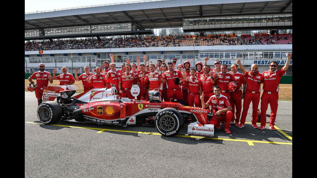 Ferrari Racing Days - Sebastian Vettel - Hockenheim - 2016