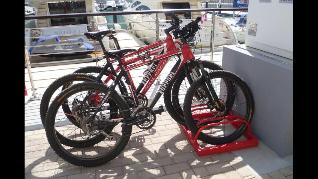 Ferrari-Räder - GP Abu Dhabi - 10. November 2011