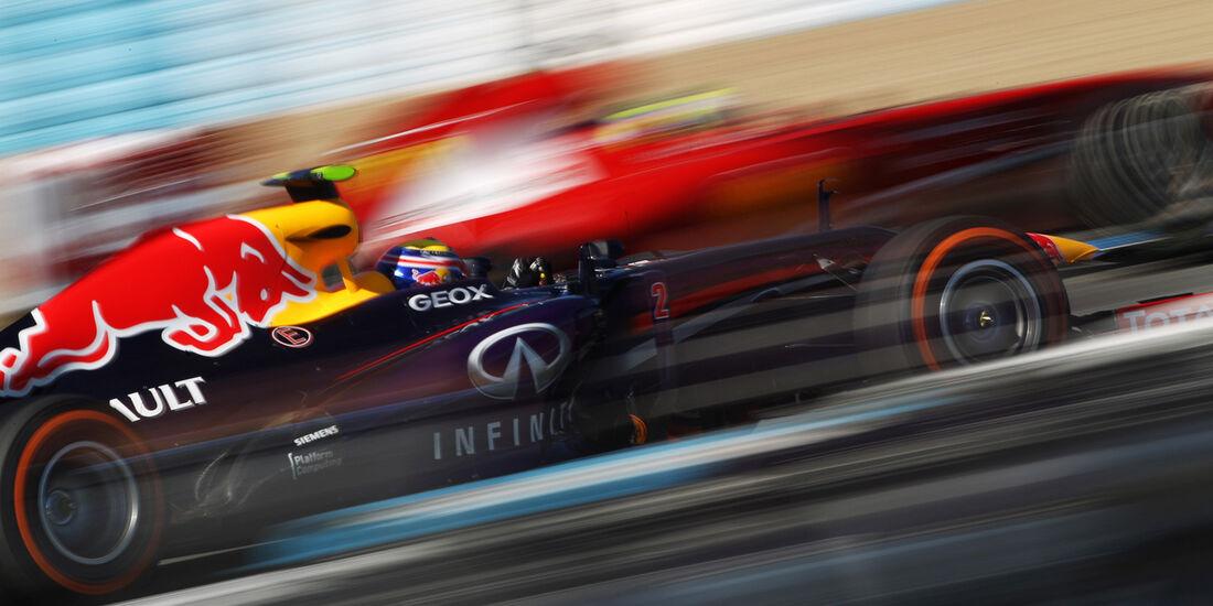 Ferrari & Red Bull F1 Test Jerez 2013 Highlights