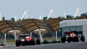 Ferrari -Red Bull - Formel 1 - GP Malaysia - Qualifying - 1. Oktober 2016