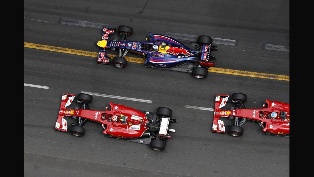 Ferrari & Red Bull - Formel 1 - GP Monaco 2014