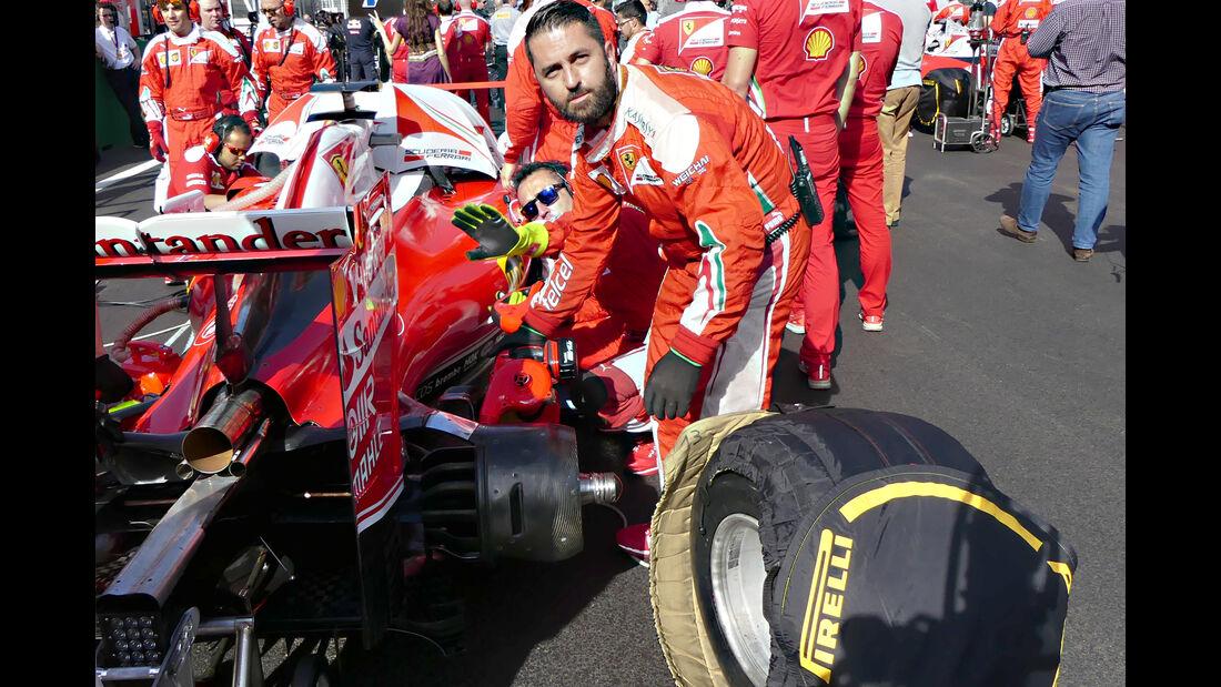 Ferrari - Reifendruck-Manipulation - Formel 1 - 2016