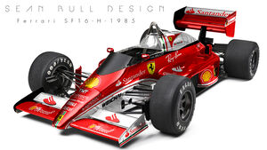 Ferrari - Retro F1 - Sean Bull