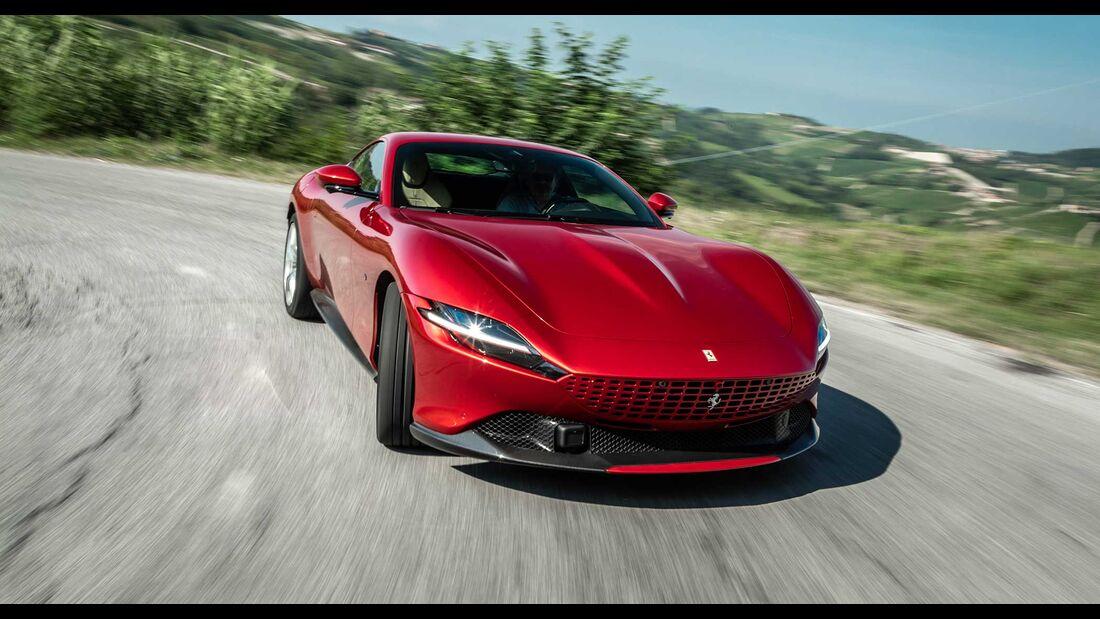 Ferrari Roma Fahrbericht (2020)