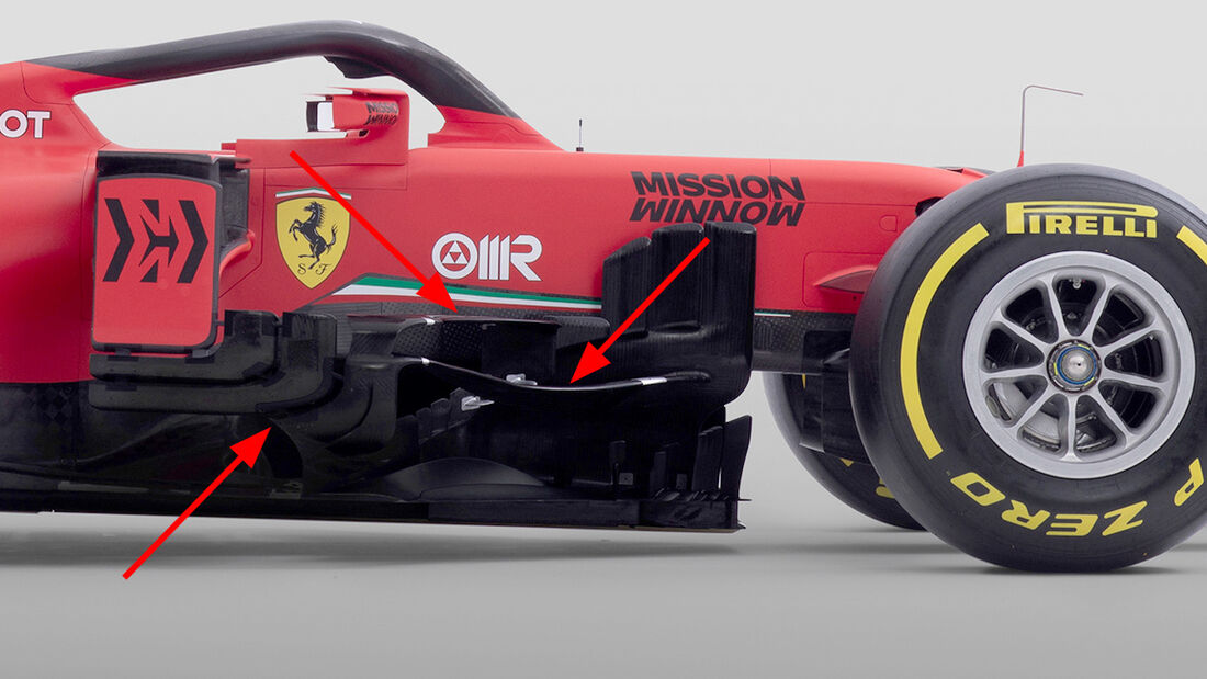 Ferrari SF1000 - F1-Auto 2020