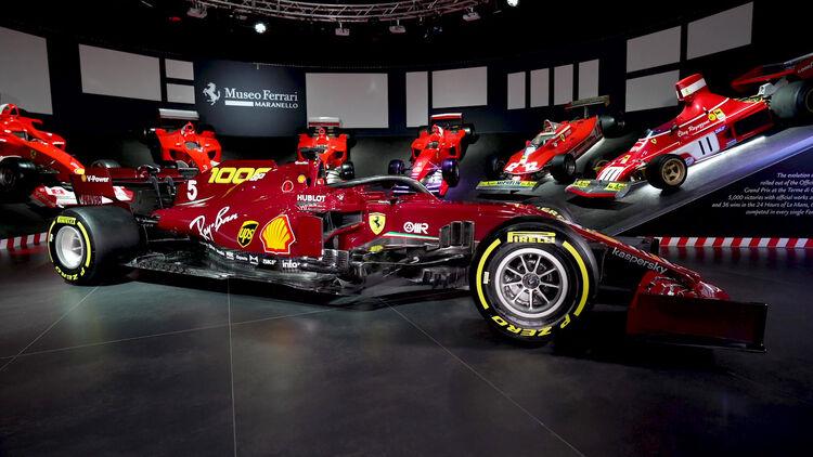 Ferrari Sf1000 Spezial Lackierung Zum Gp Jubiläum Auto Motor Und Sport