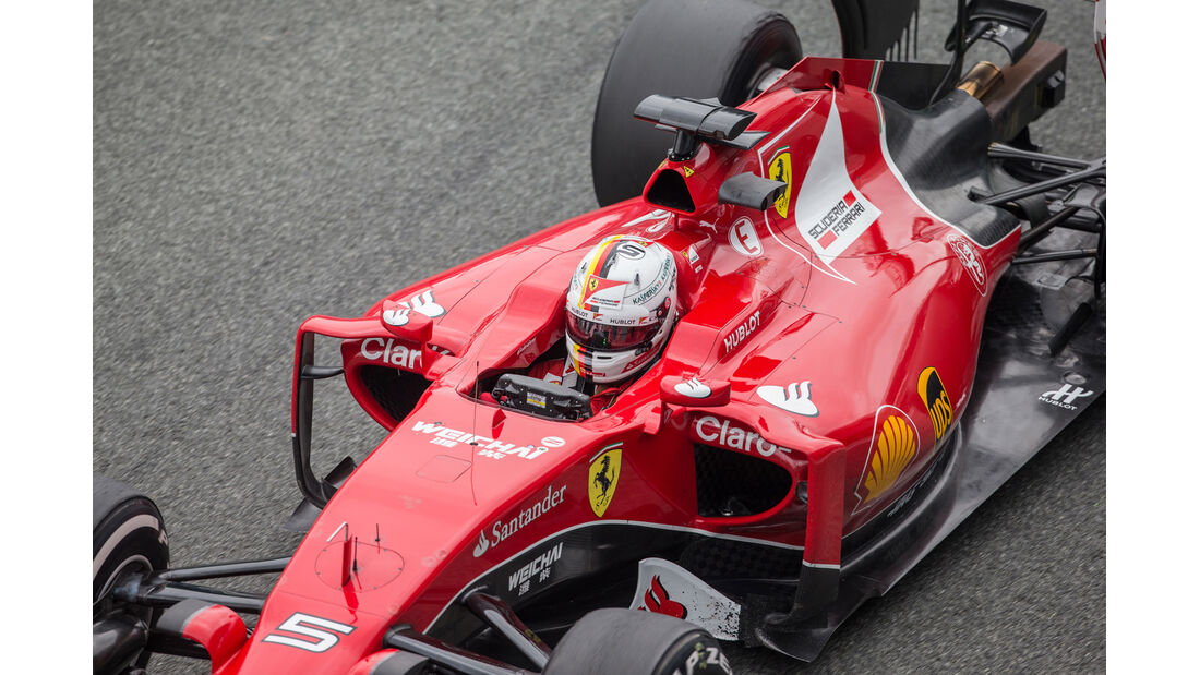 Ferrari SF15-T - Technik-Check - Formel 1 - 2015
