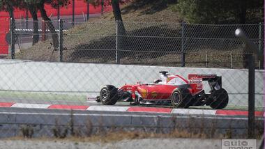 Ferrari SF16-H - Filmtag Barcelona