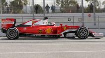 Ferrari SF16-T - F1 2016 - Profil