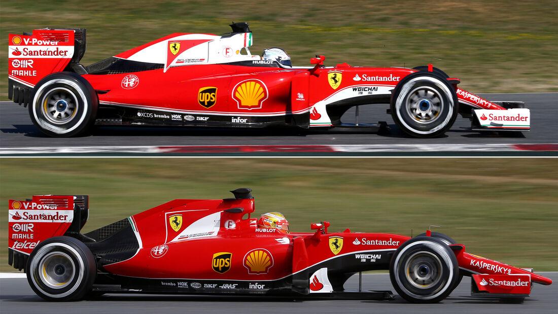 Ferrari Sf16 H Für Die Formel 1 Saison 2016 Auto Motor Und Sport