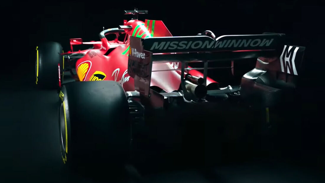 Ferrari SF21 - F1-Auto - 2021
