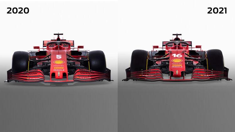 Neuer Ferrari Sf21 Für Formel 1 Saison 2021 Auto Motor Und Sport
