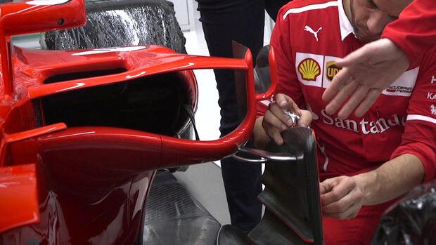 Ferrari SF70H - F1 -2017