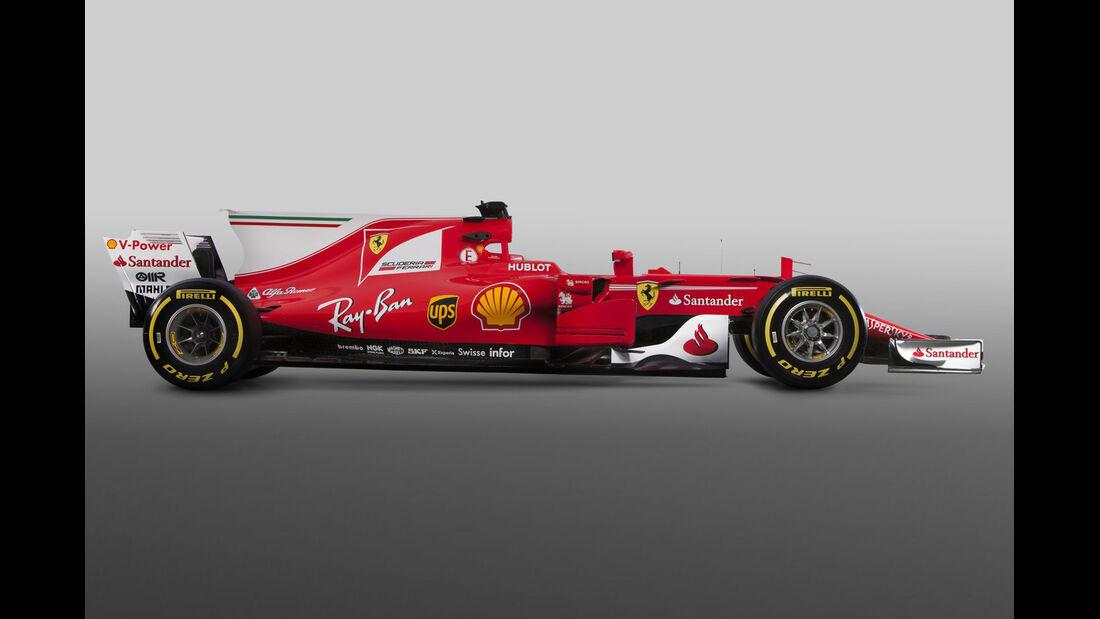 Ferrari SF70H - Formel 1 - Rennwagen