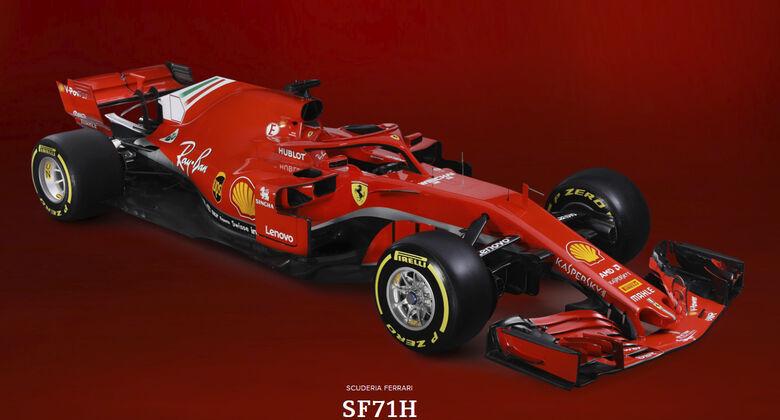 Ferrari SF71-H - F1-Auto 2018