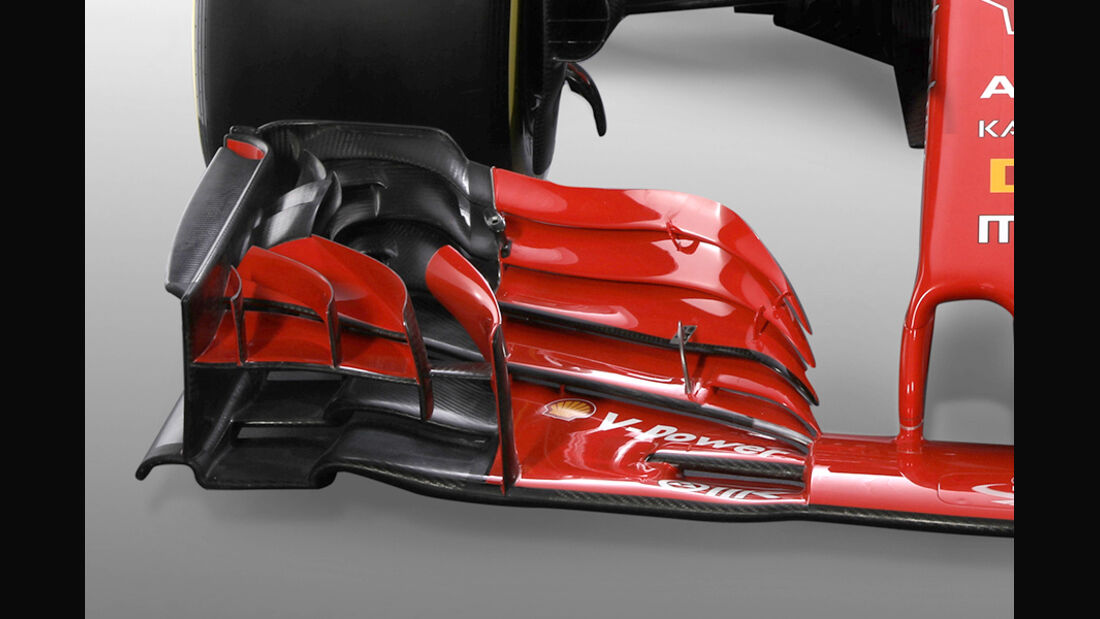 Ferrari SF71H - F1-Auto 2018