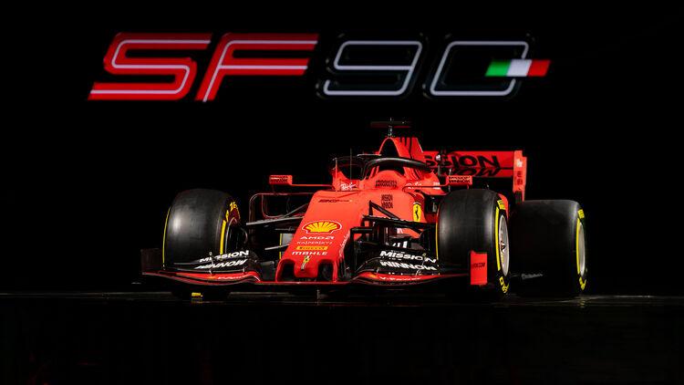 Ferrari Sf90 F1 Auto Für 2019 Auto Motor Und Sport