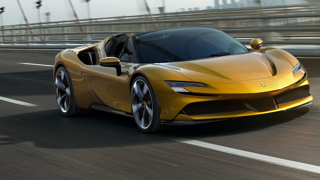 Ferrari SF90 Spider 2021 Hypercar Cabrio