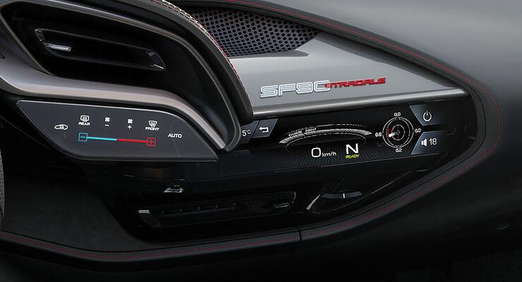 Ferrari Sf90 Stradale 2020 Alle Infos Zum 1 000 Ps Hypercar Auto Motor Und Sport
