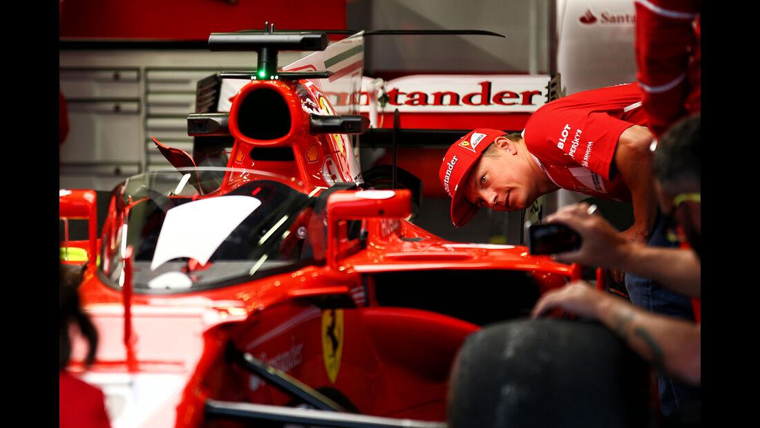 Ferrari - Shield - GP England - Silverstone - Kimi Räikkönen - 2017
