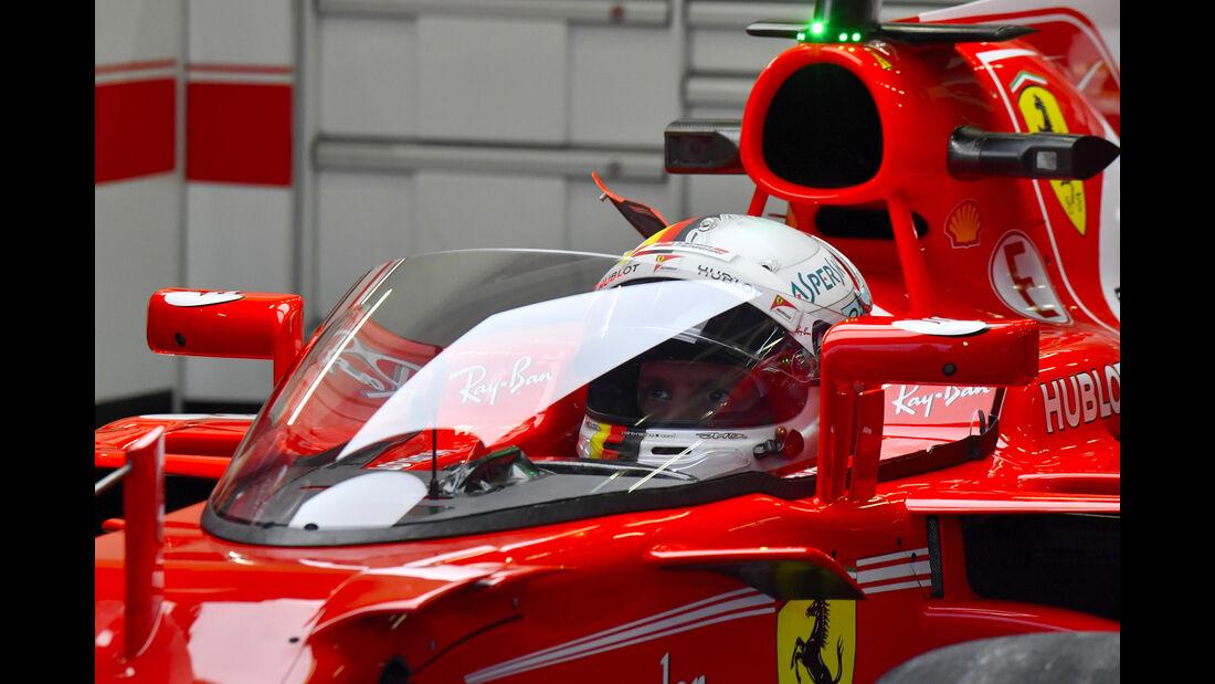 Ferrari - Shield - GP England - Silverstone - Sebastian Vettel - 2017