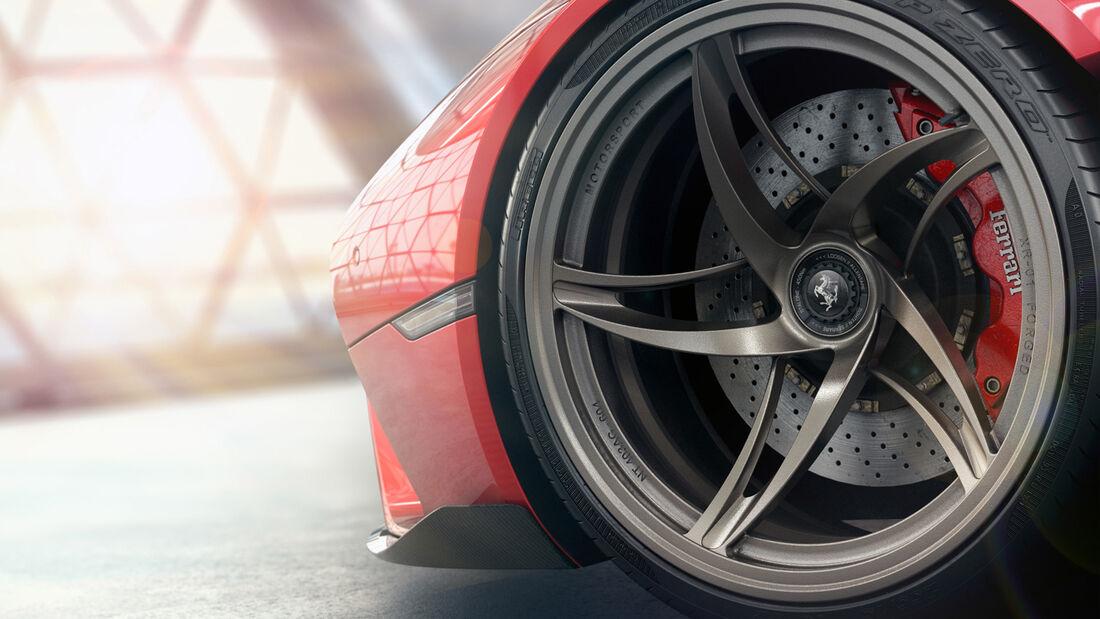 Ferrari Stallone Hypercar Design Concept