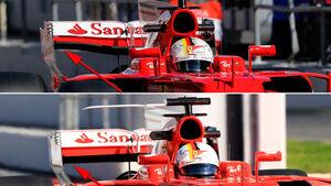 Ferrari - Technik - Barcelona-Test 2017 - Formel 1