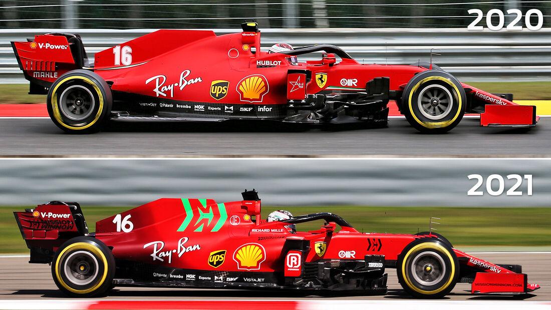Ferrari - Technik-Details - Formel 1 - 2021