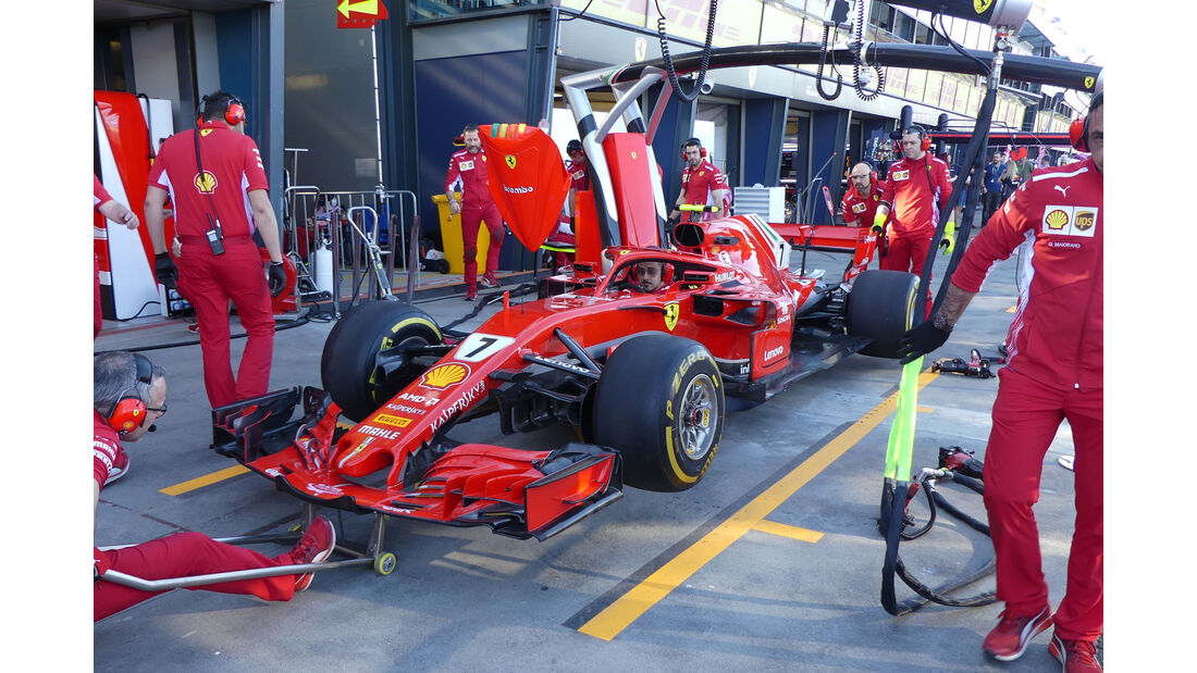Ferrari - Technik-Details - GP Australien 2018 - Melbourne