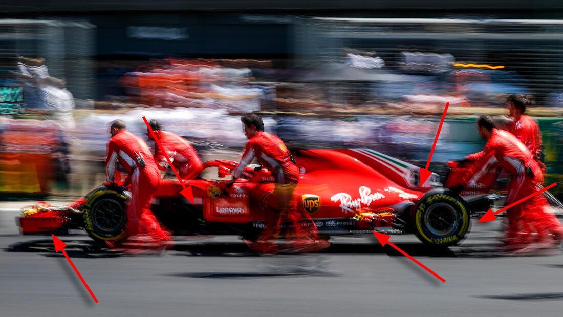 Ferrari - Technik - Formel 1 - 2018