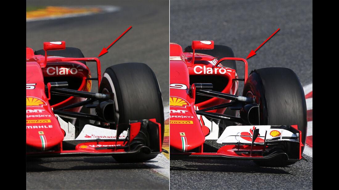 Ferrari - Technik - GP Belgien 2015