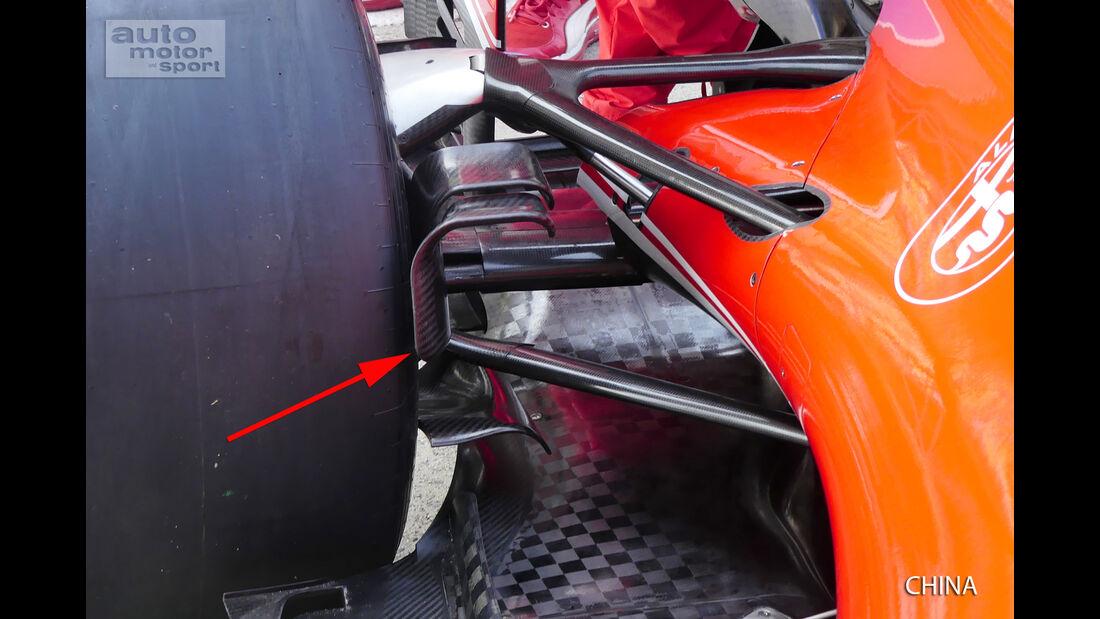 Ferrari - Technik - GP China 2016