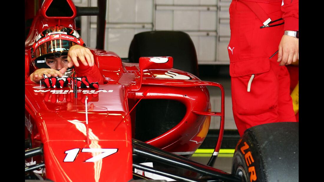 Ferrari - Technik - GP England 2014