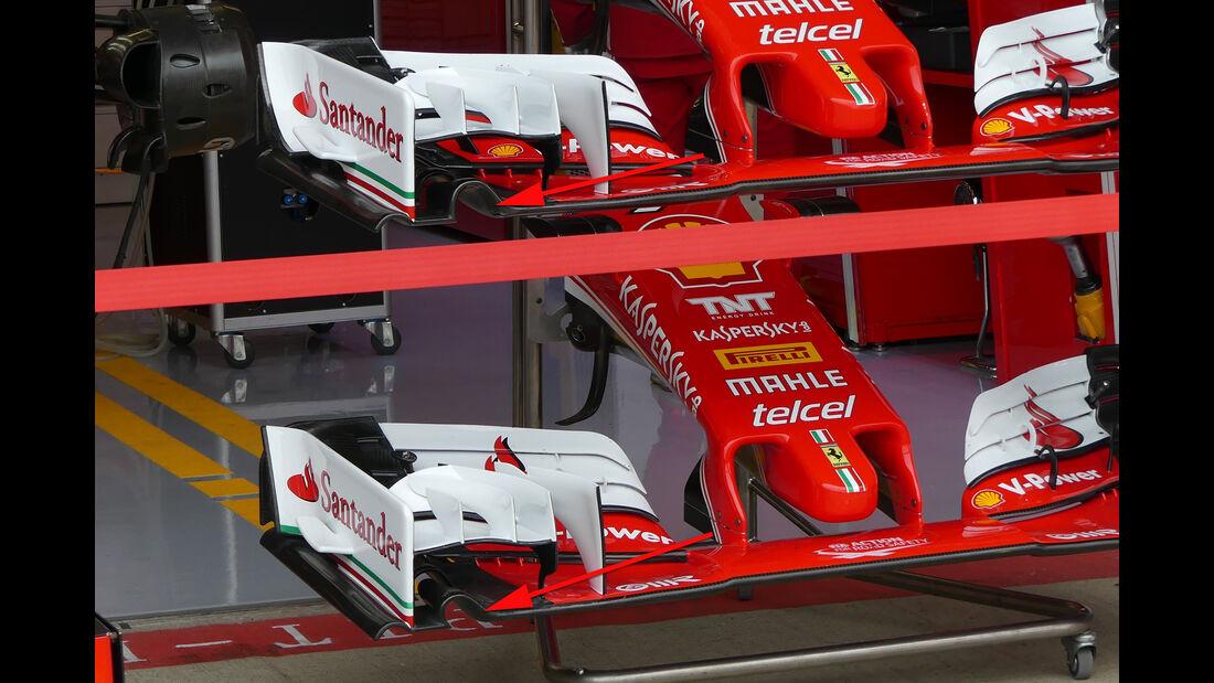 Ferrari - Technik - GP England / GP Österreich - Formel 1 - 2016