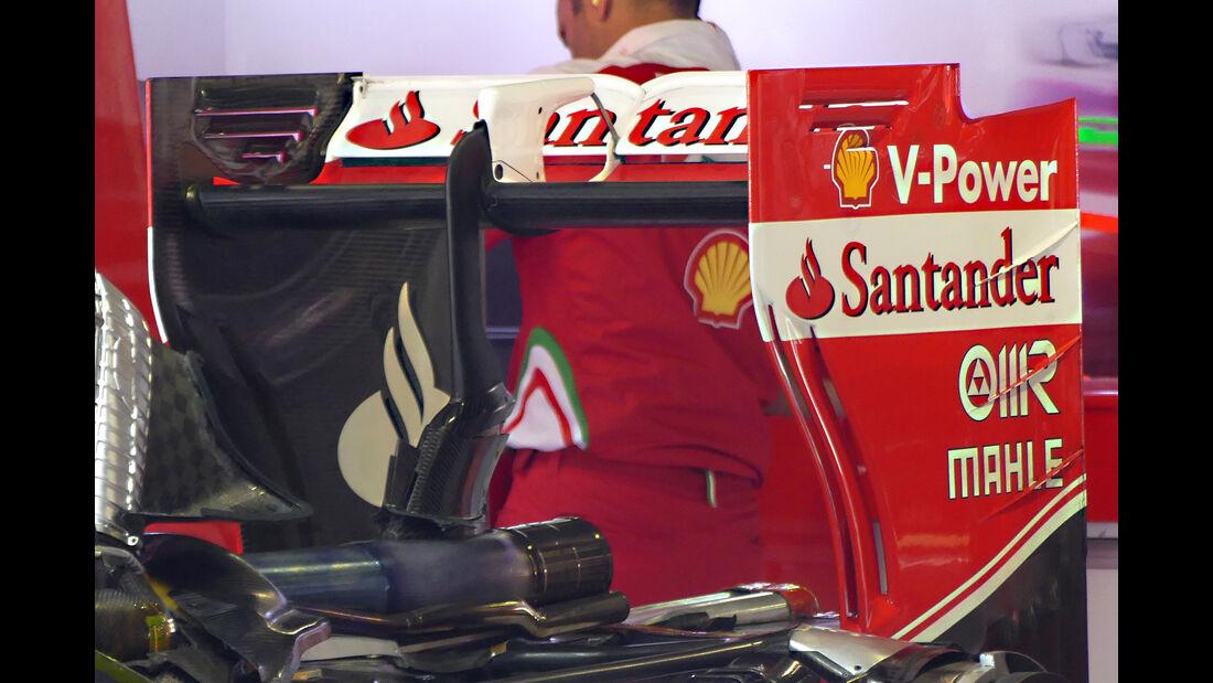Ferrari - Technik - GP Italien 2016