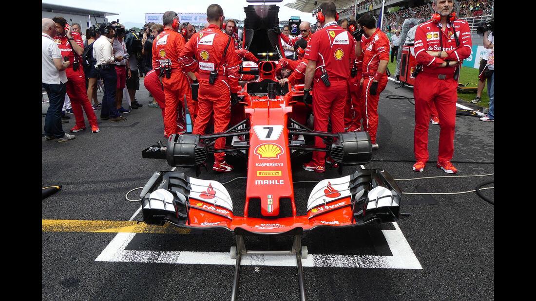Ferrari - Technik - GP Malaysia 2017