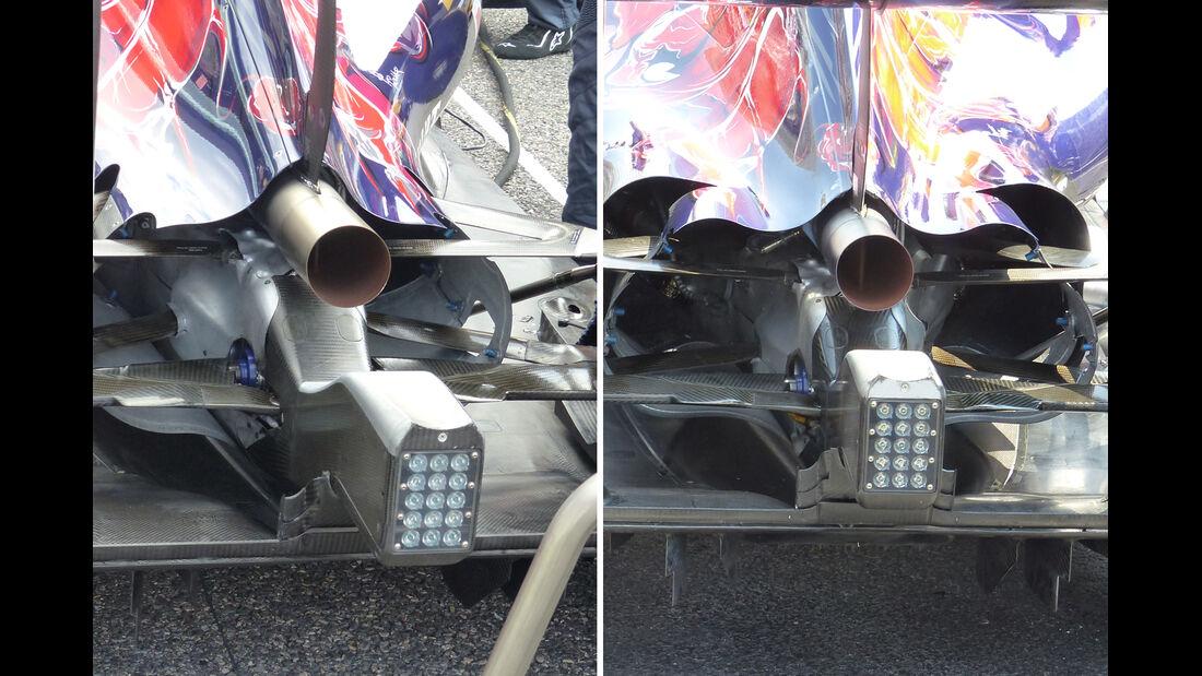 Ferrari - Technik - GP Mexiko / GP USA - 2015