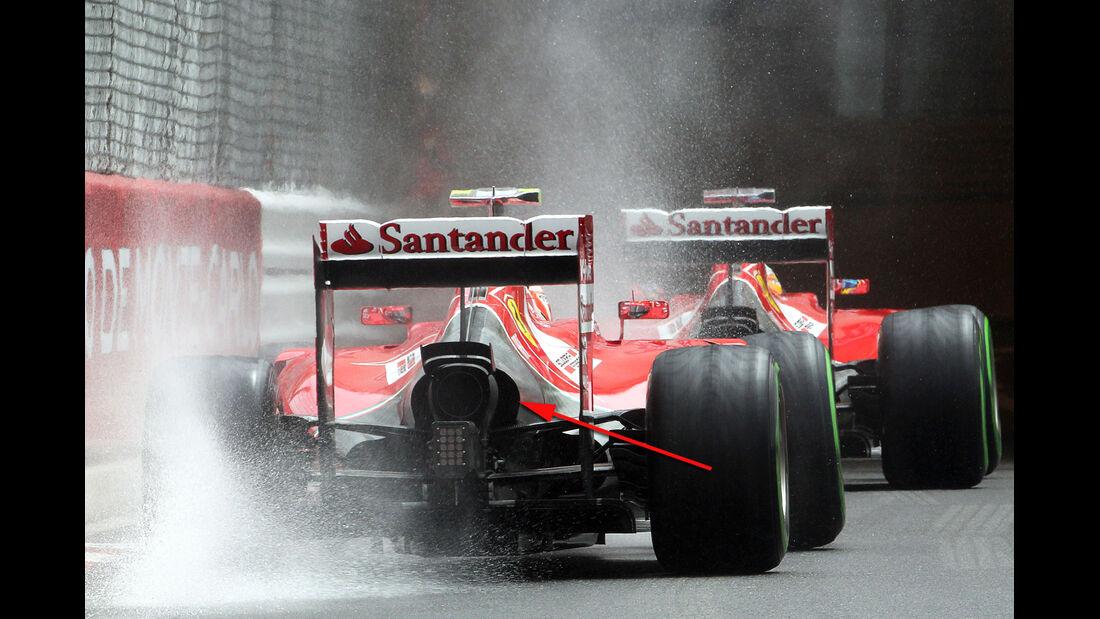 Ferrari - Technik - GP Monaco 2014