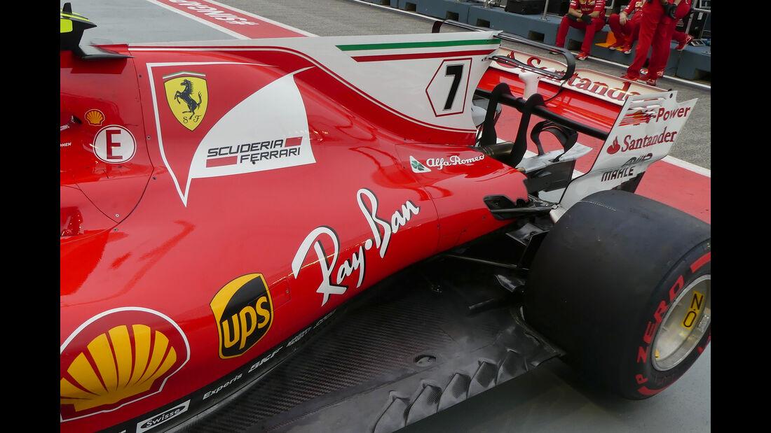 Ferrari - Technik - GP Singapur 2017