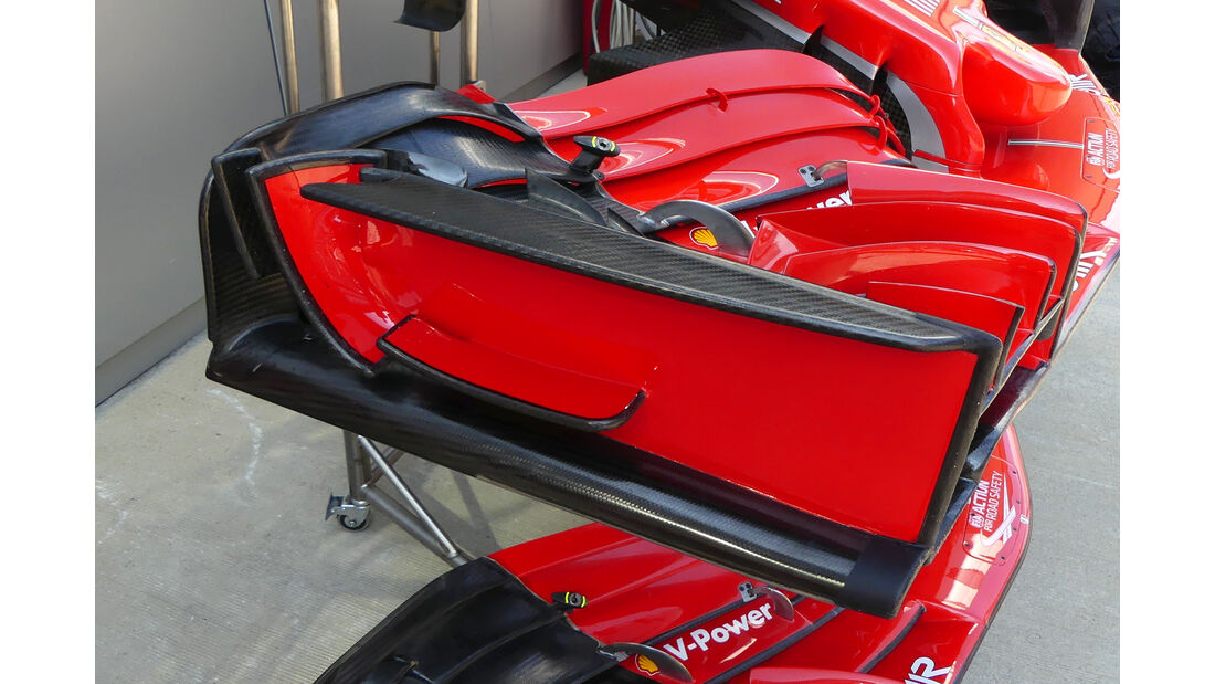 Ferrari - Technik - GP Singapur, Russland & Japan 2018