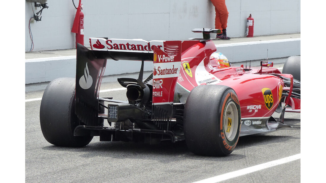 Ferrari - Technik - GP Spanien 2014